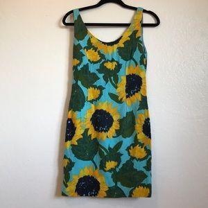 Moschino Bright Summer Sunflower Minidress